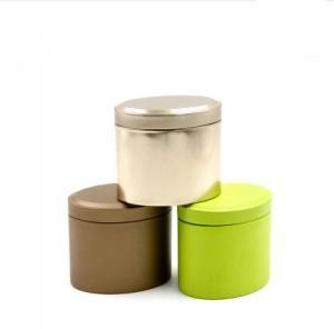 Quality Jewelry Packaging Airtight Oval Empty Decorative Tin Containers Tea Gifts Tin Cans for sale ...  sc 1 st  Round Tin Box - Everychina & Jewelry Packaging Airtight Oval Empty Decorative Tin Containers Tea ...