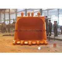 1-8m3 Excavator Rock Bucket Heavy Duty Type For Light Working Environment