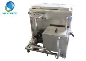 China Oil / Fat Removing Large Ultrasonic Cleaner With Filteration System on sale