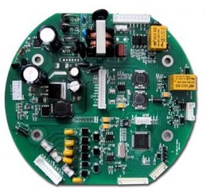 China Round LED Printed Circuit Board Assembly Services For Stage Light Controller Assy on sale