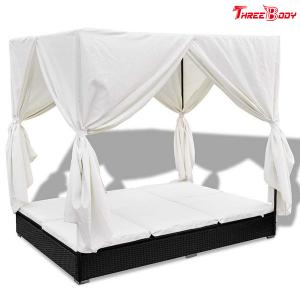China Comfortable Outdoor Furniture Sofa , Cream White Outdoor Garden Furniture Lounge Sofa on sale