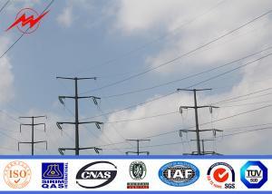China 電気伝達のための高圧熱いすくいの電流を通された鋼鉄電柱 on sale