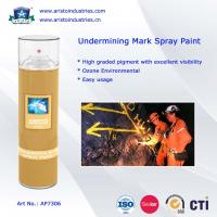 China Undermining Mark Spray Paint / Mine Marking Out Paint & Non-Flammable Layout Marker on sale