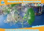 Bola de parachoques inflable verde del golpeador para el centro del ocio del campo de fútbol/de la seguridad
