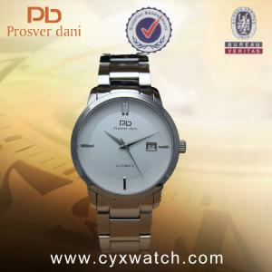 China Waterproof Sapphire Crystal Stainless Steel Big Face Automatic Mechanical Watches For Men on sale