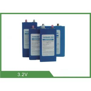 Quality Lithium Iron Phosphate Cell Rechargeable Lifepo4 Battery Low Self Discharge for sale