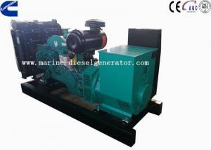 China Low Emission 120KVA Genset Cummins Diesel Power Generators With Closed Cooling Radiator on sale