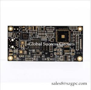 China impedance 10 layers PCB board HASL 1oz high-thickness copper IMS printed circuits For Temperature Controller on sale