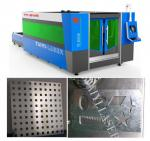 China Galvanized Sheet Laser Cutting Machine-Unique Fumes Exhausting system to protect worker wholesale