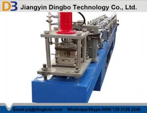 China High Precision Metal Shutter Door Forming Machine 10-15m / min on sale