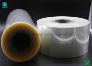 China Clear Pvc Naked Box Packing Film In Good Shrinkage Waterproof Excellent Grease Barrier on sale