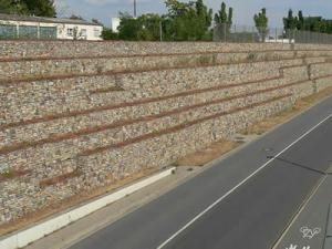 Quality Gabion Noise Barrier for sale