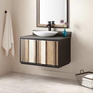 Modern Style Free Standing Vanity Units