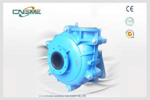 China Horizontal Surface Rubber Lined Slurry Pumps on sale