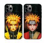Black Anime 3D Lenticular Flip Phone Case For Iphone 11