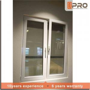 China Double Glazed Tilt And Turn Aluminium WindowsGood Watertightness Performance on sale