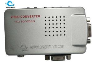 China High Sharpness 5 v Meanwhile VGA PC to TV video Converter  2560 * 1600 full screen on sale