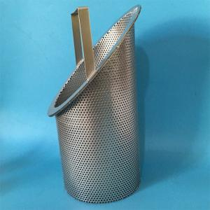 China 304 316L Stainless Steel Mesh Filter Baskets With Excellent Corrosion Resistance on sale