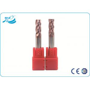 China Carbide Corner Radius End Mill Milling Cutter Tools , Corner Rounding End Mill on sale
