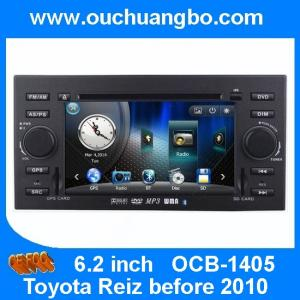 China Ouchuangbo Car Radio Bluetooth TV DVD CD Player for Toyota Reiz (before 2010) GPS Navigation Stereo System OCB-1405 on sale