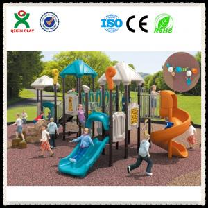 China Preschool Play Equipment  Outdoor Playground for Schools QX-006C on sale