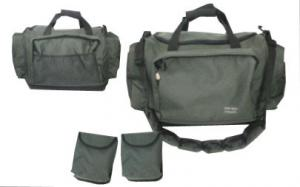 China Customized Fully padded 50X35X35CM Fishing Tackle Bag with PVC coating on sale
