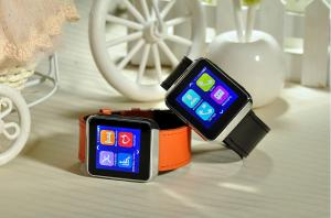 China Cell Phone Wrist Watch Bluetooth Smartwatch With Heart Rate Monitor / Sleep Monitor on sale