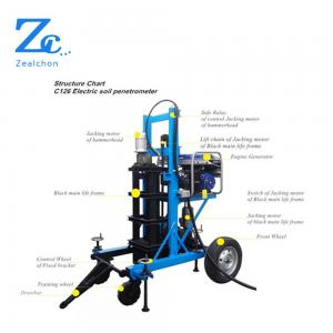 China C126 Motorized standard penetration test apparatus SPT for soil testing machine on sale