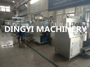 China Pharmaceutical Cream Vacuum Mixer Machine , Emulsifying Mixer PLC Touch Screen on sale