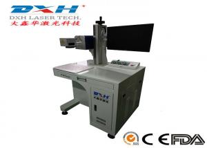 China Co2 IPG Laser Source Automatic Laser Marking Machine For Plastic EZCAD Control Software on sale