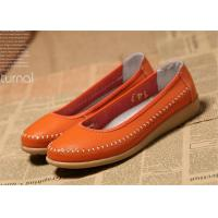 Ladies Flats Soft Comfortable Casual Shoes Flat Shoes Women Natural Leather