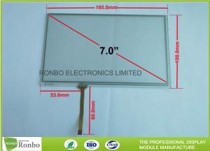 China 7 Inch 4 Wire Resistive Touch Panel 60.0mm FPC Length Long Durability on sale