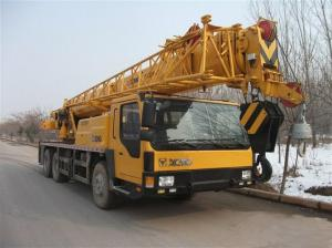 China Durable QY25K5 Truck Crane Hydraulic Mobile Crane For Lifting Operation on sale