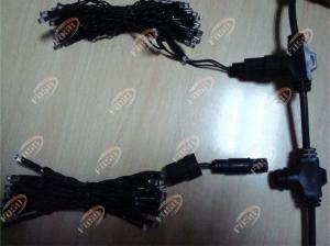 China Colorized High Intensity LED Curtain Light Set for Holiday Decorative Lighting 475LED 100V on sale