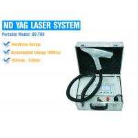Painless Portable Q Switched Nd Yag Laser Tattoo Removal Permanent Safety Treatment