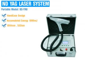 China Painless Portable Q Switched Nd Yag Laser Tattoo Removal Permanent Safety Treatment on sale