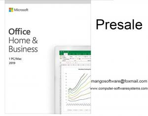 China Presale Microsoft Office 2019 Home And Business For Windows And Mac Online Activation on sale
