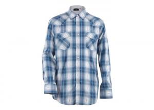 China Casual Long Sleeve Microfiber Mens Cotton T Shirts Woven Plain Fabric Style on sale