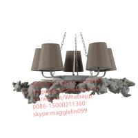 China YL-L1055 WHOLESALE  ITALIAN ANTIQUE REPRODUCTION ACANTHUS AND TASSEL CHANDELIER on sale