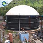 6.0 Mohs Hardness Effective Biogas Holders For Anaerobic Digestion Plants