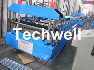 China Steel / Metal / Iron Wall Cladding Roll Forming Machine wholesale