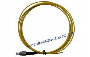 China Perda de inserção da manutenção programada LSZH da trança da fibra óptica de FC 2.0mm baixa para redes ópticas on sale