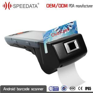 China Personalize a ROM industrial áspera multipal do ósmio 1GB RAM 8GB do andróide de PDA do cartão magnético on sale
