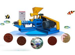 China 450kg/h Fish Feed Extruder Machine for Floating or Sinking Fish Feed Project on sale