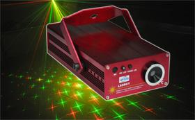 China 10W Sound Active Mini Automatic Twinkling Laser L65RGY on sale