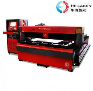 China YAG Laser Cutting Machine For Sheet Metal , Industrial Laser Cutter Equipment on sale