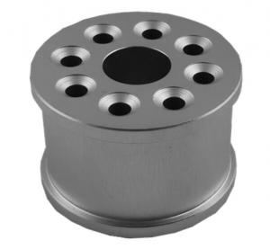China High Standard CNC Precision Turned Components Drilling Process Natural Color on sale