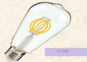 China D35*108mm Nostalgic Decorative LED Bulbs With E14 / E12 Lamp Base 2W 250LM on sale