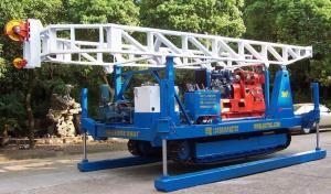 China Portable Drilling Machine Hydraulic Crawler Drilling Rig GXYL - 2 on sale