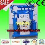 Purificador de óleo do transformador da eficiência elevada, máquina da filtragem do óleo isolante de única fase